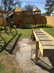 Sluice Box and Playground at Yellow Diamond Inn
