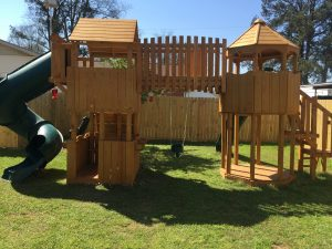 New Playground at Yellow Diamond Inn!
